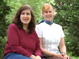 Denise Blaha and Julia Dundorf
